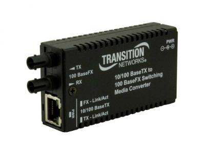 10/100Base-TX to 100Base-FX Ethernet Media Converter